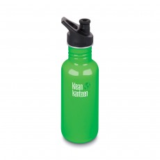 Klean Kanteen 18oz (532ml) 'Classic' Bottle with Sports Cap - Spring Green