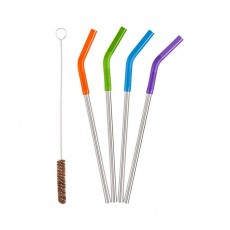 Klean Kanteen Reusable Stainless Steel Straws - Multi-Colour