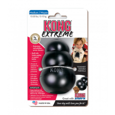 KONG Extreme Dog Toy - Medium, Black