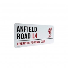 Liverpool F.C. Official Street Sign - 40cm x 18cm