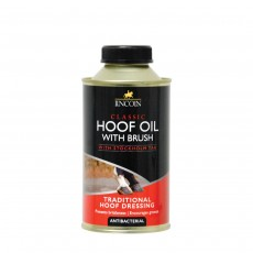 LINCOLN Classic Hoof Oil with Brush - 500ml