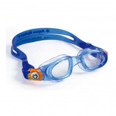Aqua Sphere Moby Junior Goggles Blue/Orange/Clear