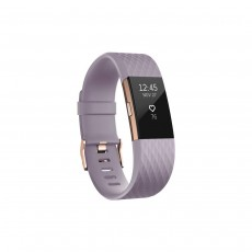 Fitbit Charge 2 Special Edition Activity Tracker Heart Rate Monitor - Lavender Rose Gold, Large