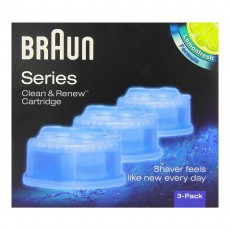 Braun Series 3 5 7 CCR3 Shaver Clean & Renew Refills 3-Pack