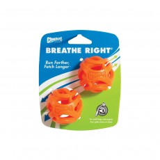 Chuckit Breathe Right Fetch Ball - Small (2 Pack)