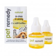 Pet Remedy Calming Plug-in Diffuser Refills (Refills only 2 X 40 ml)