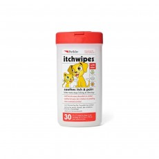 Petkin Itch Wipes - 30 count