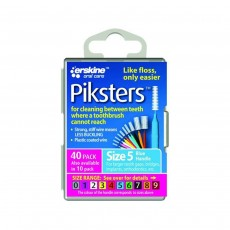 Piksters Interdental Brushes Size 5 Blue 40 Brushes