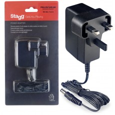 Stagg 9-volt/1A Power Adaptor for Effect Pedals and Boards