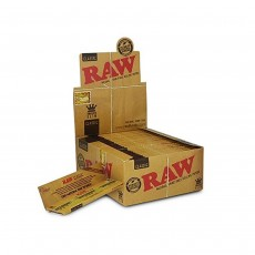 RAW CLASSIC Kingsize Slim Rolling Papers - 50 Packs