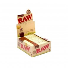 RAW King Size Slim Organic Hemp Papers - 50 Pack