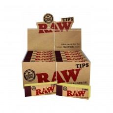 Raw Classic Rolling Tips - 50 Pack