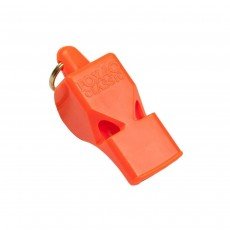 Fox 40 Classic Official Whistle with Wrist-Lanyard; Orange
