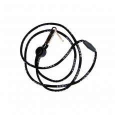 Fox 40 Breakaway Neck Lanyard; Black