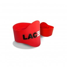 Laceeze Band Original Size Fits Child 13 - UK 5 - Red