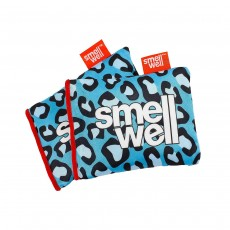 Smell Well Pouches Pack of 2 - Blue Leopard