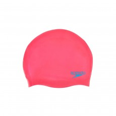 Speedo Moulded Silicone Cap - Junior, Pink