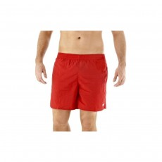 Speedo Mens Solid Leisure Shorts - Large, China Red