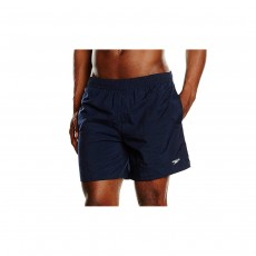 Speedo Mens Solid Leisure Shorts - Extra Large, Navy