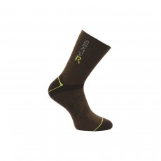 Regatta Mens Blister Protection Walking Socks - Clove/Oasis, 9-12