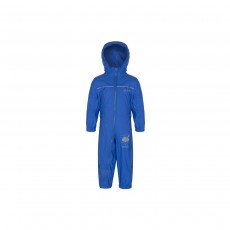 Regatta Kids Puddle IV Waterproof All-in-One Suit - 6-12 Months, Oxford Blue