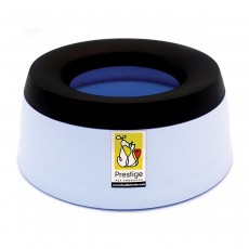 Road Refresher Non-Spill Travel Water Bowl - Large, Blue