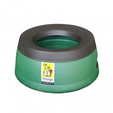 Road Refresher Non-Spill Travel Water Bowl - Large, Green