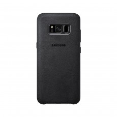 Samsung Alcantara Cover Case for Samsung Galaxy S8+ - Dark Grey