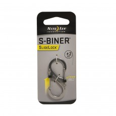 Nite Ize S-Biner SlideLock Stainless Steel #2 - Stainless