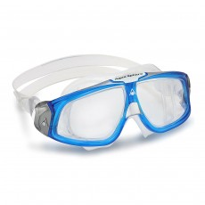 Aqua Sphere 'SEAL 2.0' Men's Goggles - Blue/White with Clear Lens