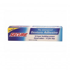 Secure Waterproof Denture Adhesive 40g