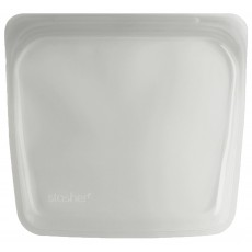 Stasher Silicone Pouch - Large - Clear