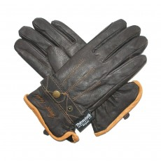 Mark Todd Winter Gloves with Thinsulate Adult - Brown, Small