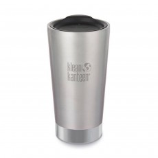 Klean Kanteen Insulated Tumbler - 16oz (473ml) - Brushed Stainless