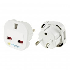Decrescent Europlug UK To European Travel Plug Socket Adapter - 42+ Countries