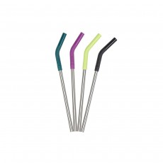 Klean Kanteen Stainless Steel Straw 4-Pack - Mixed - 8mm