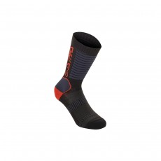 Alpinestars Paragon Lite Socks 19 - Black/ Bright Red, Medium