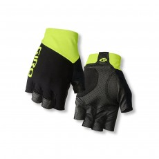 Giro Zero CS Cycling Gloves - Small, Black/ Highlight Yellow