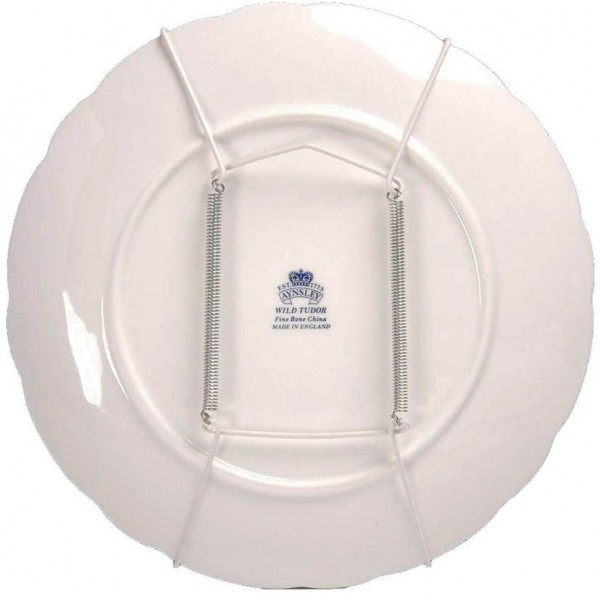 Leeds Display Wire Plate Hanger in White / 10 - 14