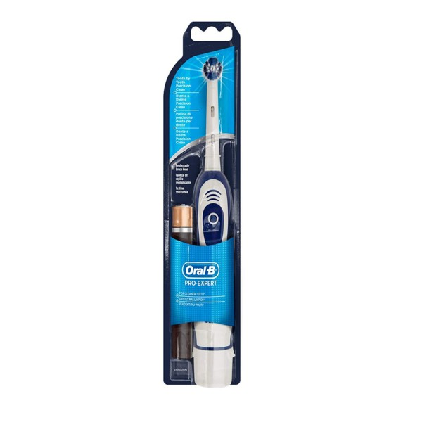Oral-B Pro Expert Battery Powered Toothbrush with Replaceable Batteries, 2 x AA