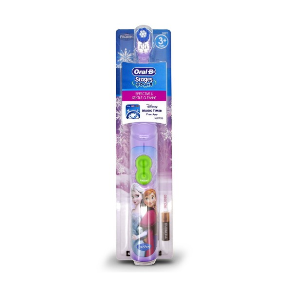 Oral-B Disney Frozen Stages Power Kids Battery Toothbrush Kids 3+ Years