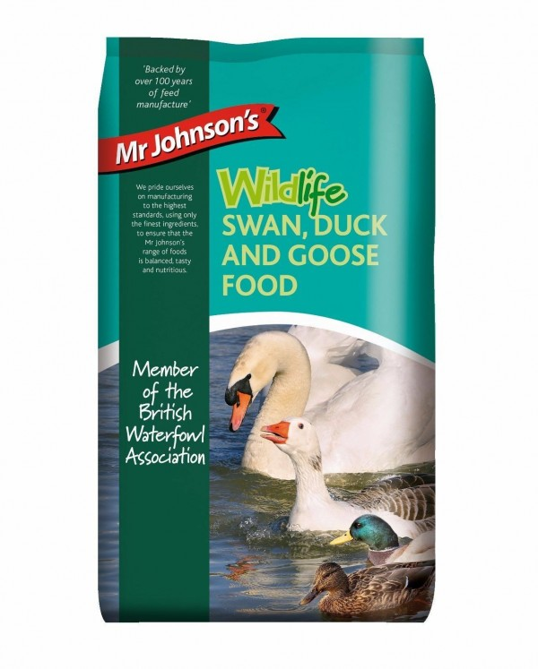 Mr Johnsons Wildlife Swan Duck & Goose Food - 750g