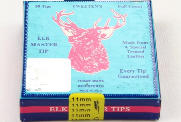 Elk-Master Tweeten Sole for Snooker Pool Cues in Blue - 9mm – 1 Unit