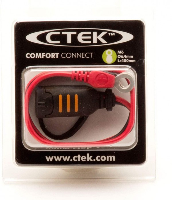 CTEK CTE-56260 Battery Charger with Direct Connector Adaptor - 6.3mm