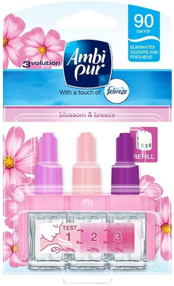 Ambi Pur 3Volution Blossom & Breeze Refill - 20ml - Pack of 1