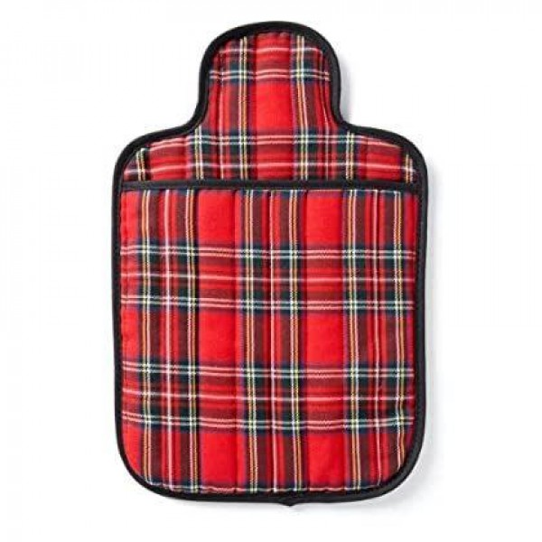 Hotties Microhottie Microwave Hot Bottle - Quilted Royal Stewart Tartan in Red