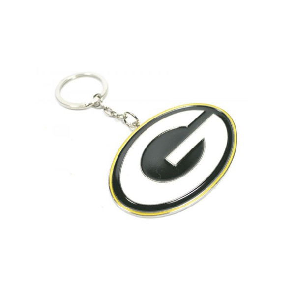 Green Bay Packers NFL Crest Keyring
