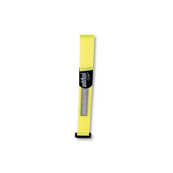 Zefal Doowah Reflective Ankle Safety Band - Yellow