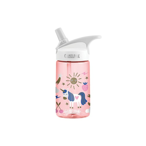 autumn shoes factory outlets amazing price Camelbak Eddy Kids Spill-Proof Water Bottle 0.4L - Unicorn