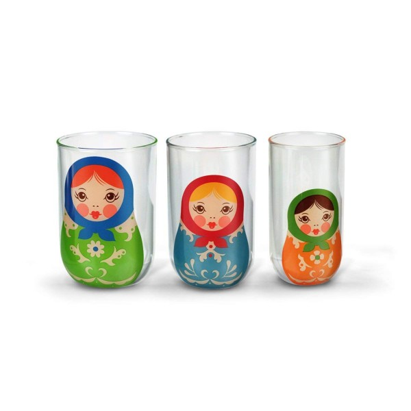 Fred & Friends Babushkups Russian Nesting Doll Glasses